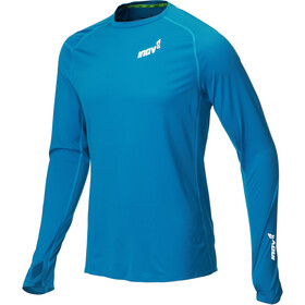 inov-8 Base Elite Jersey manga larga Hombre, blue